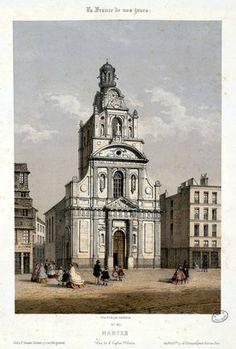 Nantes - église Sainte-Croix