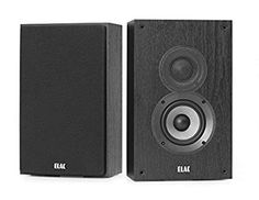 ELAC Debut 2.0 OW4.2 On-Wall Speakers, Black (Pair) Review Portable Projector Screen, Satellite Speakers, In Wall Speakers, Surround Sound Systems, Product Offering, Apple Tv, Pairs, Black, Theater