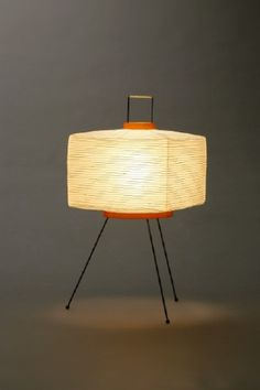 Akari Light Sculpture, FIRST Series, Model No. 7A, Ozeki Lantern Co. Isamu Noguchi.