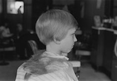 Mark Steinmetz (American, 1961 - ), 'Ansonia, CT (Haircut),' 1985