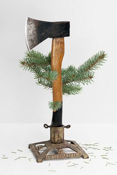 #axes #axe #ax oh tannenbaum Friede auf Erden by sohimmelblau, via Flickr