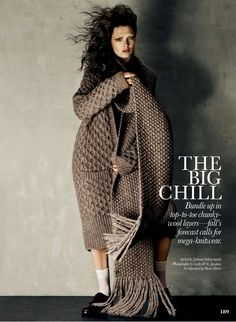 'The Big Chill' Kristen Murphy by Leda & St Jacques for Elle Canada October 2014