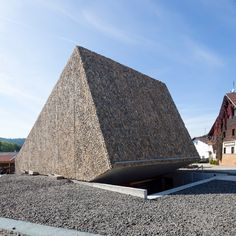 Concert Hall in Blaibach,  by Peter Haimerl, Germany, 2014.