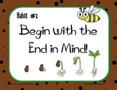 28 Best Habit 2 Begin With The End In Mind Images Covey Habits