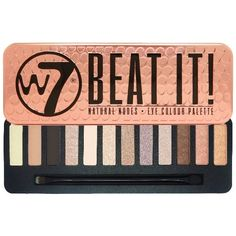 W7 Make up - 12 Eye Shadow Palette Tin - Beat It #W7Cosmetics