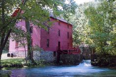 Alley Spring Mill near Emminence Mo