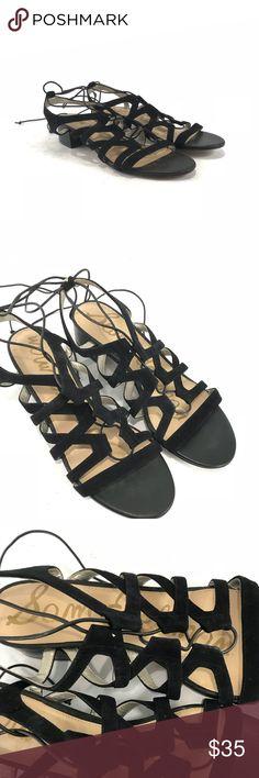 Sam Edelman Black gladiator sandals Pre-owned Sam Edelman Black gladiator sandals.  Woman's size 11.  See pictures for condition. Sam Edelman Shoes Sandals