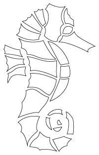 sealife art for kids Tethered_SeaHorse_drawn_illustrator Mosaic Crafts, Mosaic Projects, Mosaic Art, Mosaic Glass, Glass Art, Mosaics, Seahorse Drawing, Seahorse Art, Seahorses