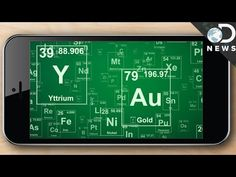 Why It Takes 75 Elements To Make Your Cell Phone - YouTube
