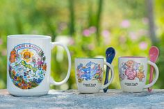 Souvenir mugs from Grand Turk, Turks and Caicos Islands. www.visittci.com/grand-turk/where-to-shop