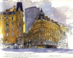 Paris Sketchbook by Fabrice Moireau
