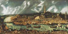 ciudad de Sevilla S XVI.