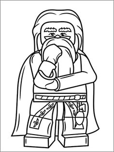 Lego Harry Potter Coloring Pages 6