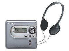Sony MiniDisc Walkman