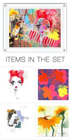 """""""Geen titel #26888"""" by lizmuller ❤ liked on Polyvore featuring art"""