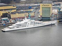 """The world's largest private yacht, Project Azzam, has been launched! At just over 590 feet, the yacht known as """"Project Azzam"""" has been launched and is now the largest privately owned yacht in the world. Yacht Design, Dubai, Private Yacht, Float Your Boat, Cool Boats, Yacht Boat, Speed Boats, Tall Ships, Water Crafts"""
