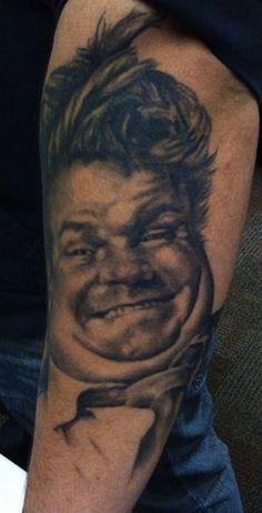 portrait by David Allen | tattoo artist Chicago Il, USA