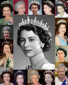 Featuring the Vladimir Tiara, Fringe Tiara,Diamond Tiara, The girls of Great Britain and Ireland Tiara, the Nizam of Hyderbad Tiara and the Burmese Tiara