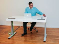 Everything you need to know about the Stir Kinetic Desk, including impressions and analysis, photos, video, release date, prices, specs, and predictions from CNET.