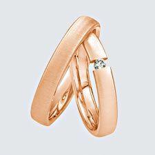 Verighete din aur roz cu briliante. Aur, Twins, Gemstone Rings, Gemstones, Jewelry, Fashion, Moda, Jewlery, Gems