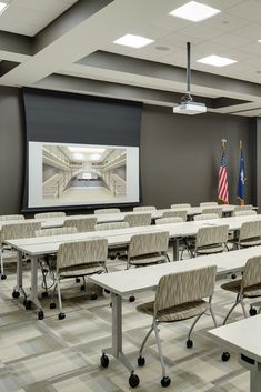 Metalux fixtures are energy efficient solutions to high traffic municipal applications