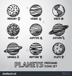 Image result for planets drawing