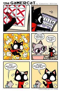 the GaMERCaT :: Year in Review   Tapastic Comics - image 1