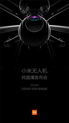 Lancement cette semaine du premier drone de #Xiaomi