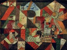 Paul Klee - Stadt R, 1919