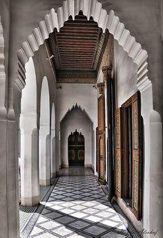 Bahia Palace, Marrakesh, Morocco Marakesh destination guide: http://georama.com/#Explore/Morocco/Marrakesh/Plan/Info
