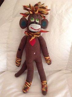 #SockMonkeyLion Handmade In Peru By Lanart #KellysSockMonkeyMania