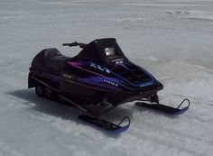 Weather like this makes me miss my sled. 1995 Polaris XLT Special.