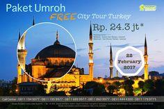 Umroh free city tour Turki 2017 #umrohplusturki #umroh #umrohplusturki2017