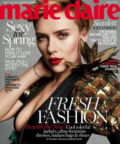 Scarlett Johansson for Marie Claire - Fashionably Fly