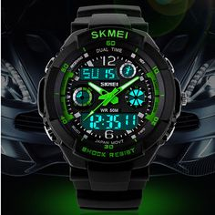 HOT Watches Men Luxury brand Skmei Sports Watch Fashion S SHOCK Wristwatches Digital Analog Quartz LED clock Relogio Masculino #hats, #watches, #belts, #fashion, #style