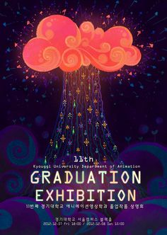 Graduation exhibition poster by *pikaole on deviantART