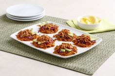 Honey BBQ Tuna Sweet Potato Latke