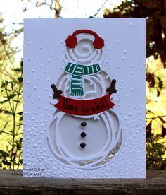 Shaker card, Snow Place, Swirly Scirbbles, Wacky Watercooler Blog Hop, mytanglewoodcottage.net