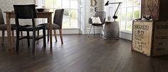 The Aged Oak is my favourite flooring from the Knight Tile range. The rich, dark texture would compliment my dream master bedroom colour scheme perfectly! Vinyl Tiles, Wood Vinyl, Vinyl Flooring, Karndean Design Flooring, Oak Dining Room, Flooring Options, Flooring Ideas, Dream Master Bedroom, Dark Wood Floors
