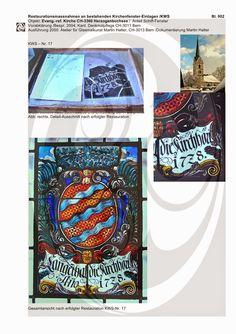Restaurierung Glasmalerei Restauration Reparatur Bleiverglasungen