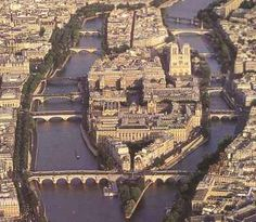 The Ile de la Cite and Ile Saint Louis,,,if ever lucky enough to go back to Paris, thats where I want to stay