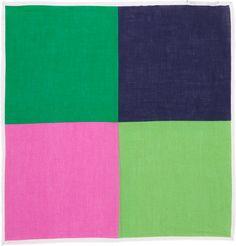 Colorblock Pocket Square