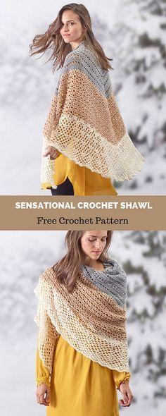 Captivating Crochet a Bodycon Dress Top Ideas. Dazzling Crochet a Bodycon Dress Top Ideas. Crochet Shawl Free, Crochet Shawls And Wraps, Crochet Scarves, Diy Crochet, Crochet Clothes, Crochet Stitches, Crochet Hats, Crochet Sweaters, Crochet Beanie