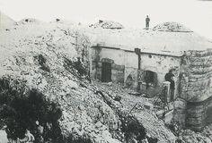 Il forte Verena da cui partì il primo colpo d'artiglieria 24.5.1915
