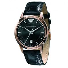 Armani Emporio Classic Leather Black Dial Women's Watch - AR2445 Armani. $174.99. Water Resistant: 5 ATM. Movement: Quartz. Case Size: 31MM. Packaging: Emporio Armani Watch Box. Lug Width: 16MM