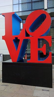 List of Love sculptures - Wikipedia, the free encyclopedia Symbols, Letters, Sculpture, Photo Challenges, Indiana, Bucket, Travel, Colors, United Kingdom