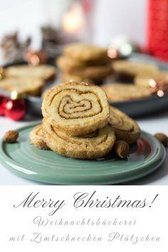 Cinnamon Rolls mal anders - Einfach nur lecker sind diese kleinen Zimtschnecken Plätzchen - super tolles Rezept für Zimt Weihnachtskekse