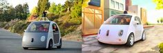 ROBOT CARS! Yaaaas! Google Just Unveiled A Self-Driving Car Prototype Without A Steering Wheel Or Pedals
