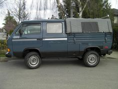 Basic restoration of an 88 VW Syncro Doublecab by a casual mechanic. Transporter T3, Volkswagen Transporter, Vw T1, T3 Bus, Vw Syncro, Vw Camper, Vehicles, Buses, Canopy