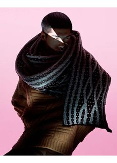 Samurai-Inspired Winterwear : Hao Yunxiang GQ Style China
